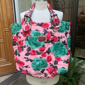 MARC BY MARC JACOBS Desert Rose Print Nylon Tote